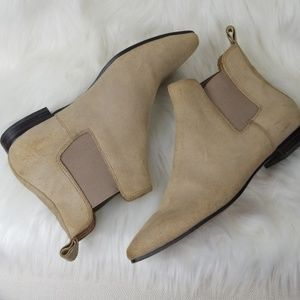 Banana Republic Everest Suede Ankle Boots